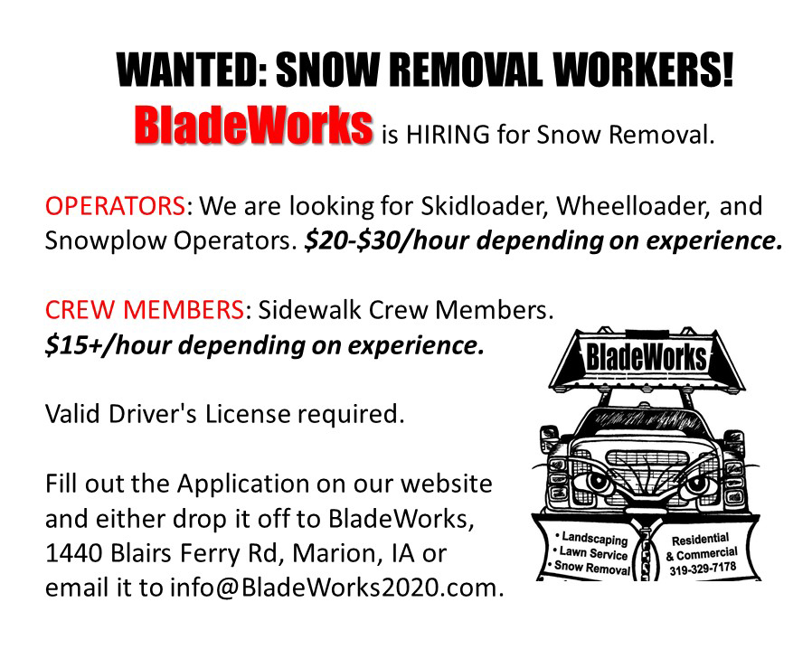 Snow Removal Advertising